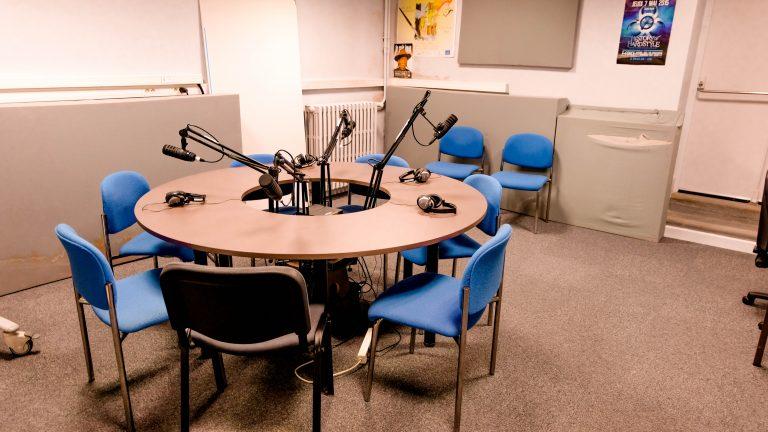 Studio radio Pôle Universitaire de Vichy