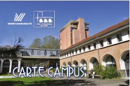 Carte campus Pôle Universitaire de Vichy