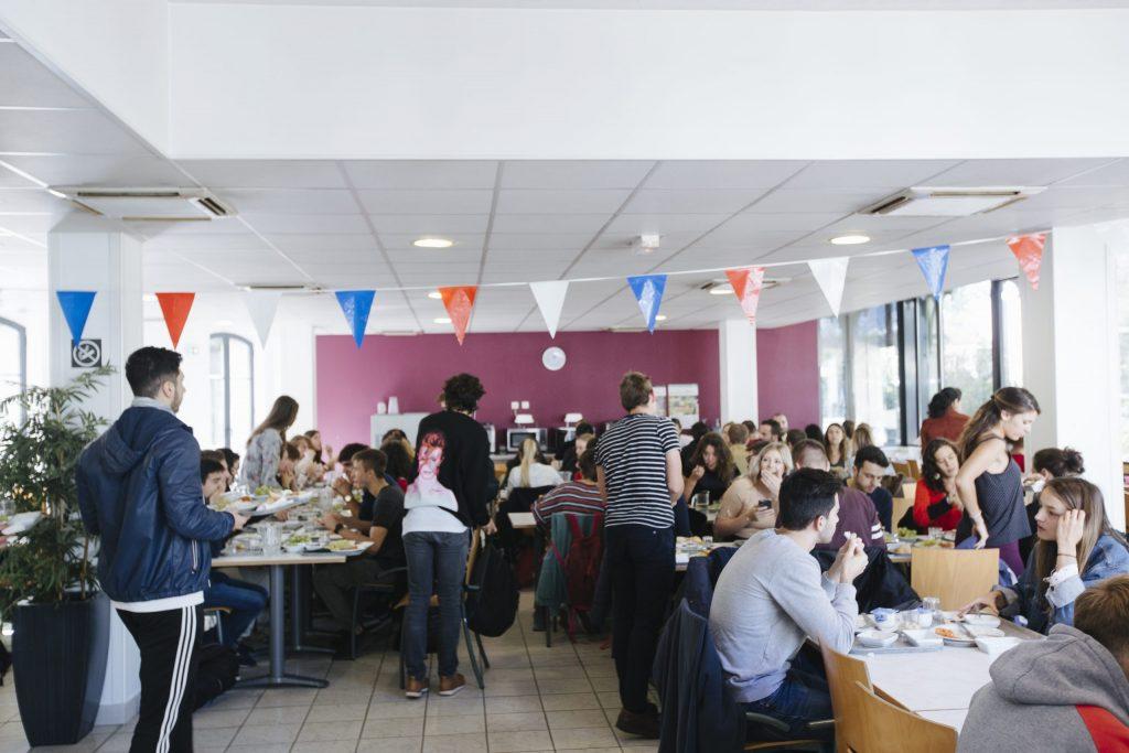Salle principale Restaurant Universitaire Pôle Universitaire de vichy