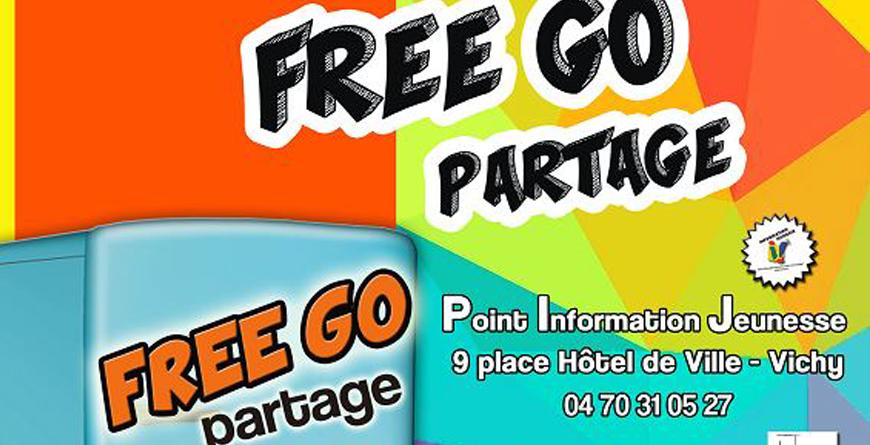 Affiche 2020 freego partage PIJ Vichy Communauté