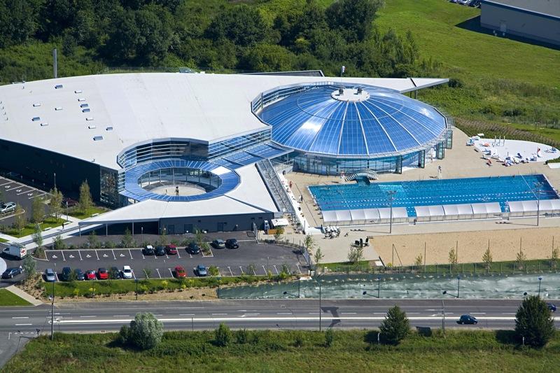Stade Aquatique de Vichy Communauté Vue Aérienne