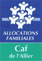 Logo CAF Allier