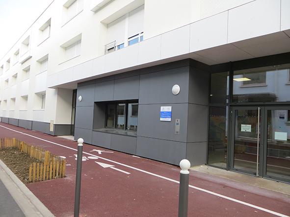 Logement étudiant les Docks de Blois Vichy - entrée