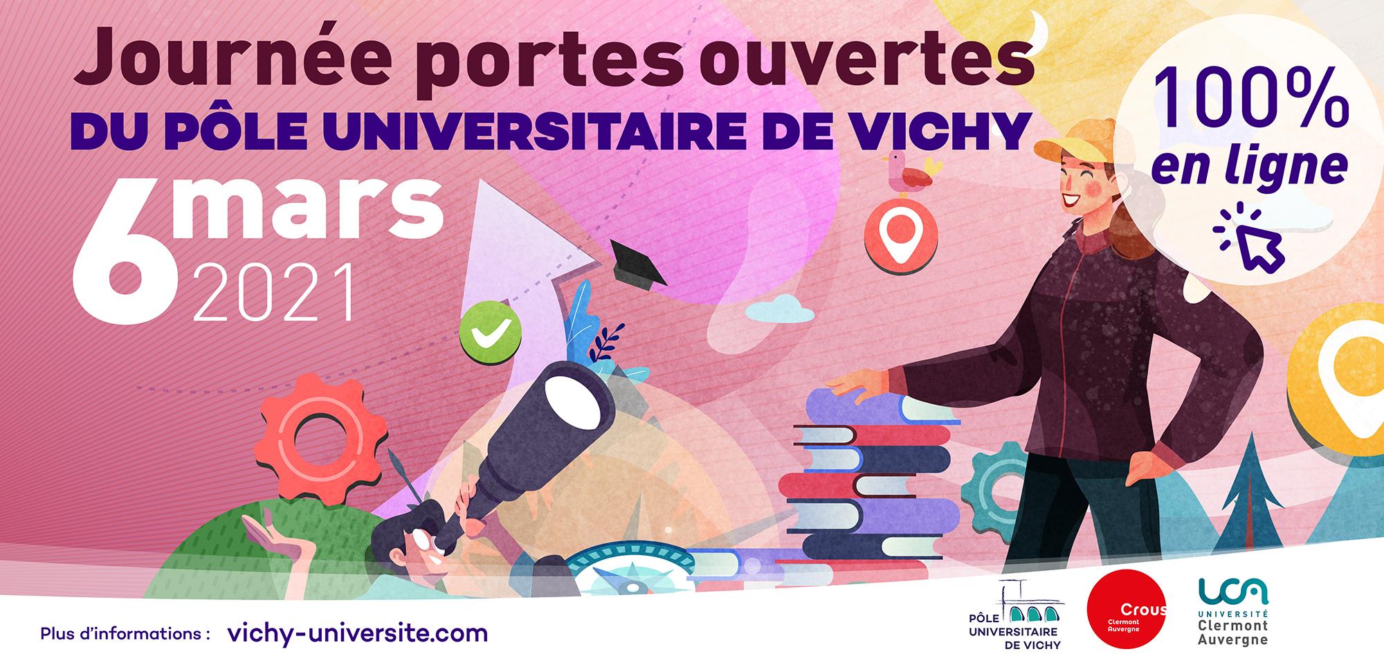 JPO Pôle Universitaire de Vichy - bannière