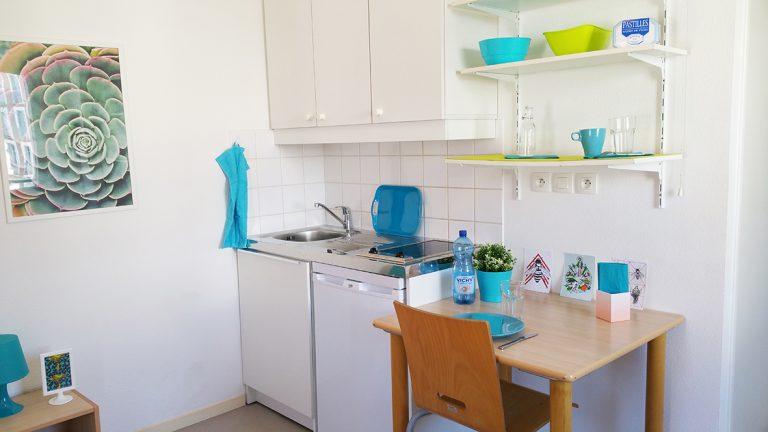 Logement Maison de l'étudiant Vichy - coin cuisine