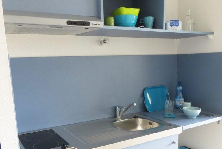 Logement étudiant les Docks de Blois Vichy - cuisine