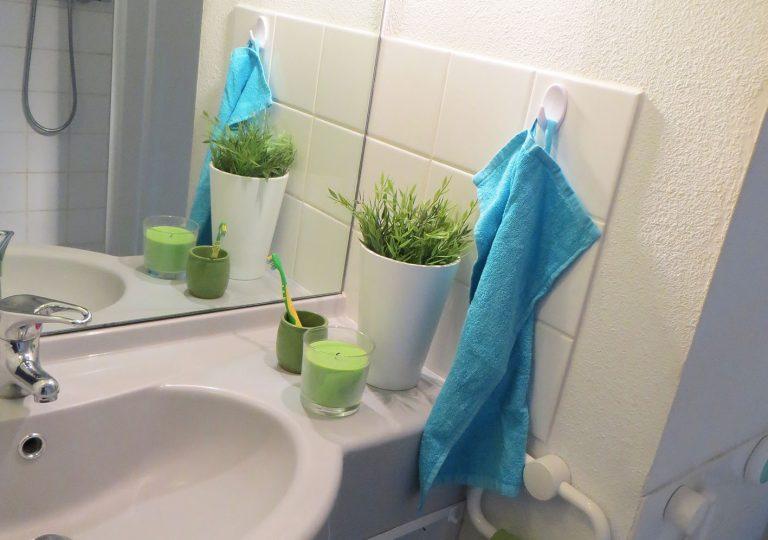 Logement Maison de l'étudiant Vichy - Salle de bain