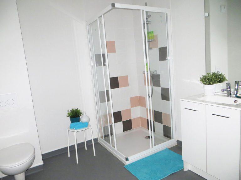Logement étudiant les Docks de Blois Vichy - Salle de bain