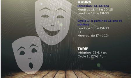 Cours de théâtre 2021-2022